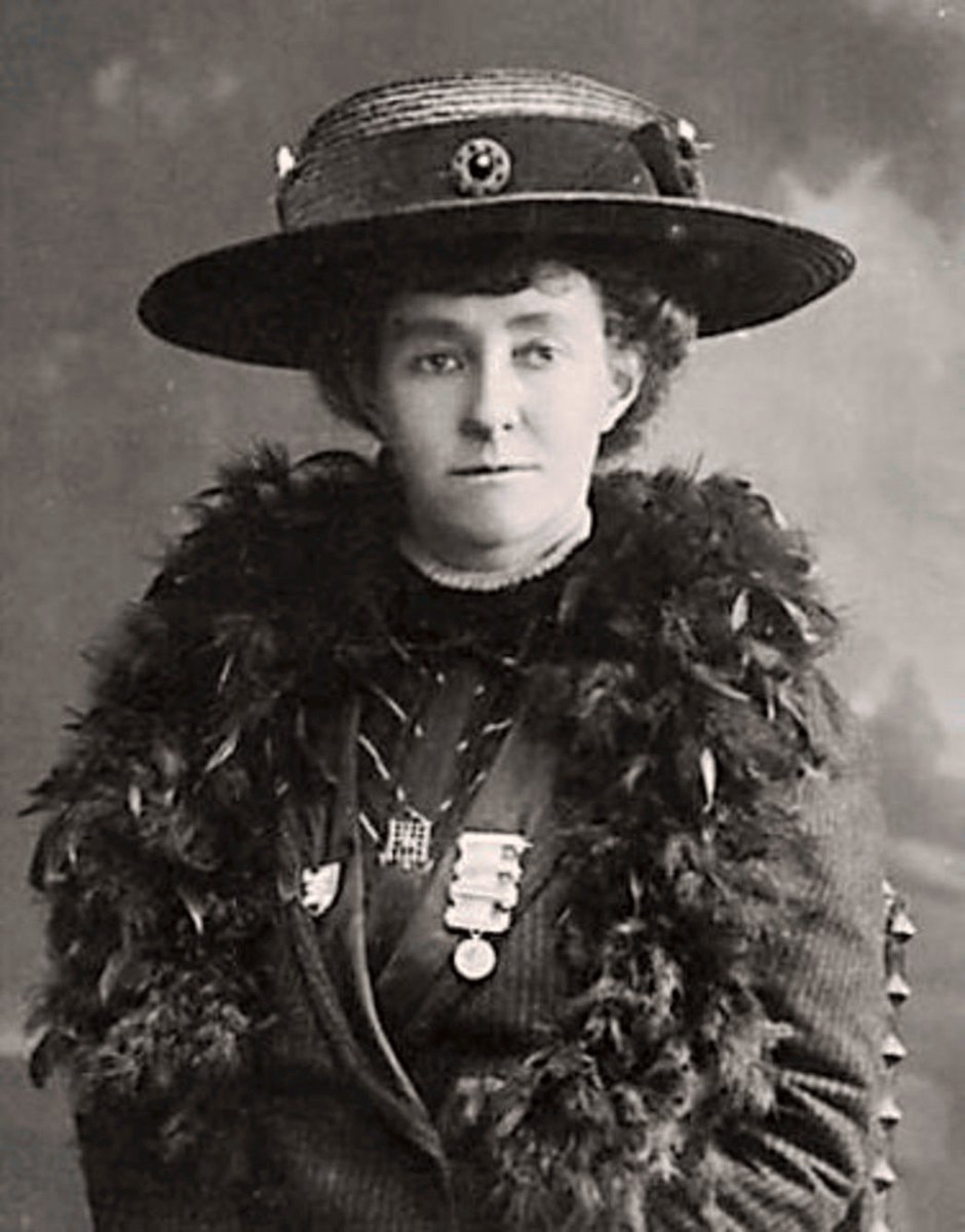 Emily Davison: lover of big hats.