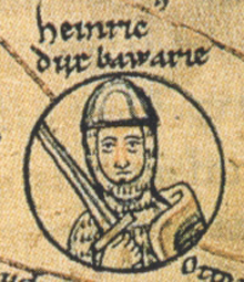 Henry I, Duke of Bavaria, and also for a short while, Duke of Lotharingia.