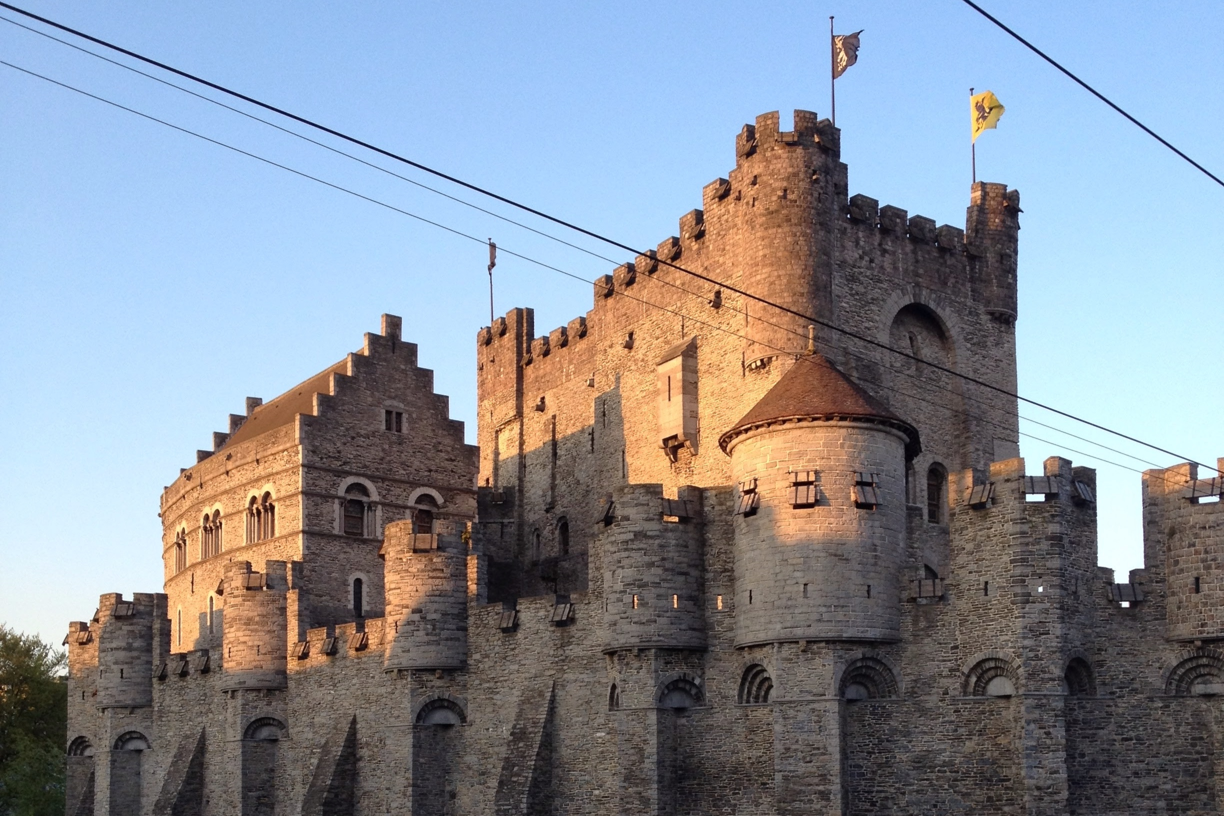 Ghent Castle. Photo by Julian Smith.