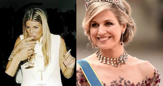 Maxima, then and now. Note the improved hair.
