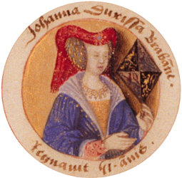 Joanna of Brabant.  Anonymous Unknown author [Public domain]