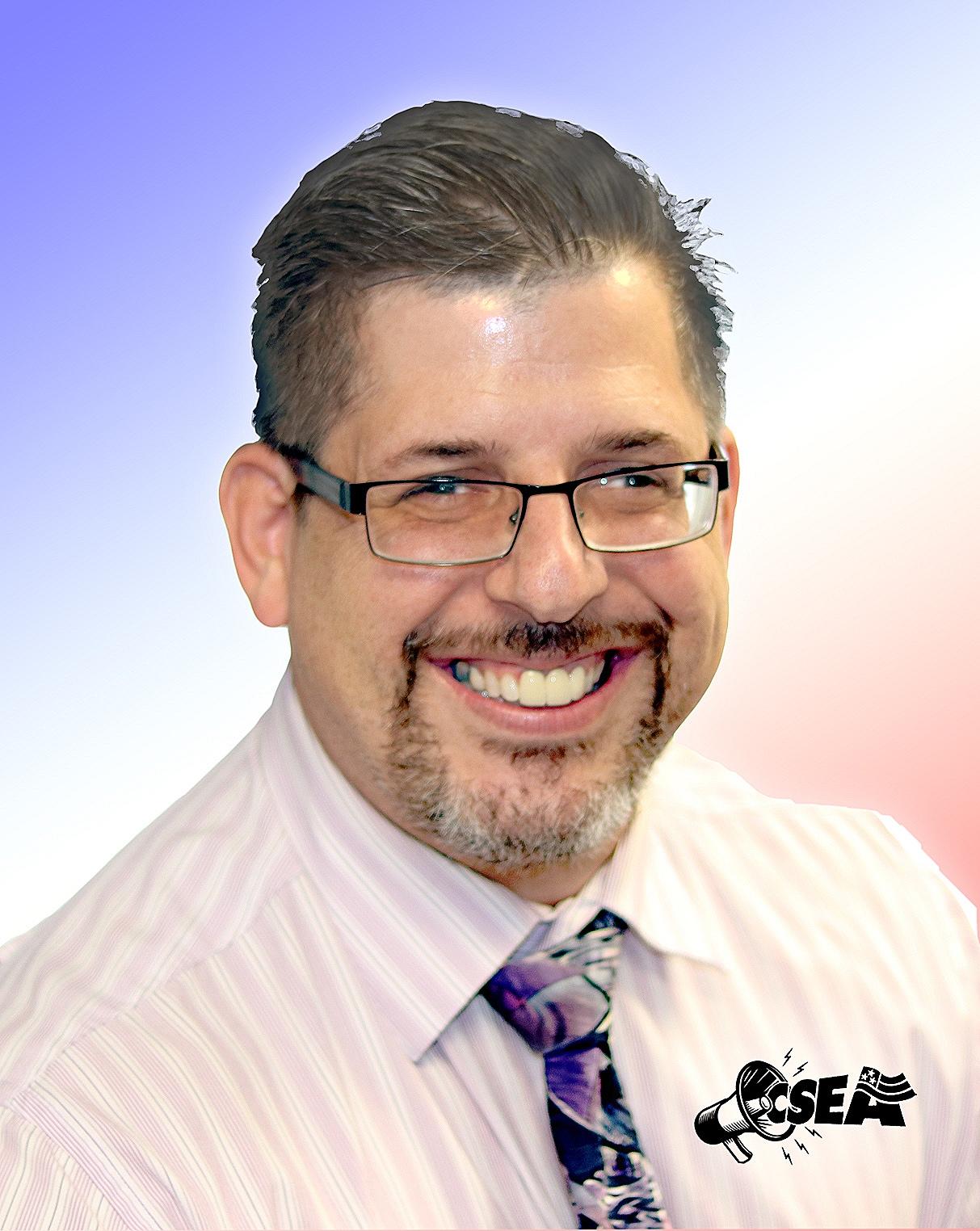 JohnAloisio - CSEA Local 830 Vice President • Treasurer's Office Unit President • Grievance Chairman