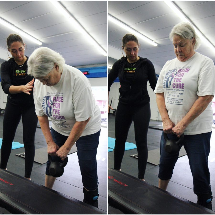 personal training personal trainer older adults senior women fitness classes north bethesda rockville montgomery county