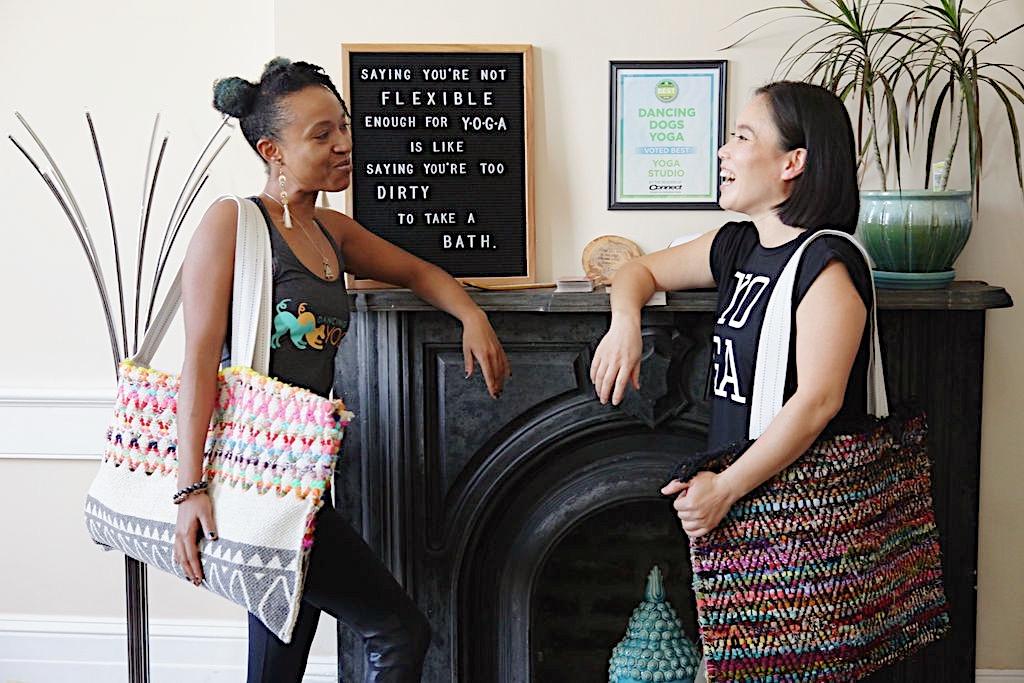 Photo: @leeannritchphotograph Yogis: @junekatasana & @uni_aka!jamilah