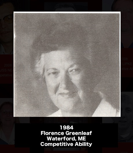 FLORENCE GREENLEAF