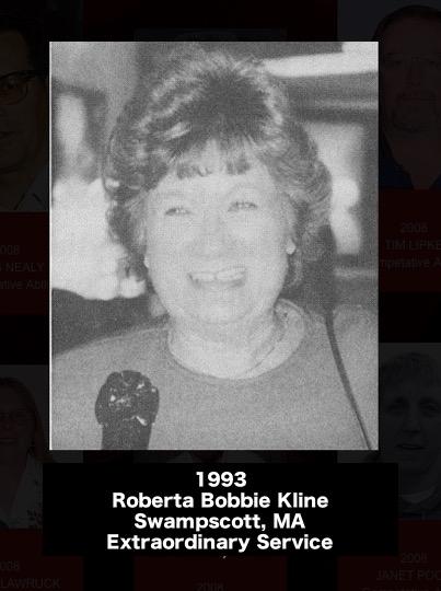 ROBERTA 'BOBBIE' KLINE