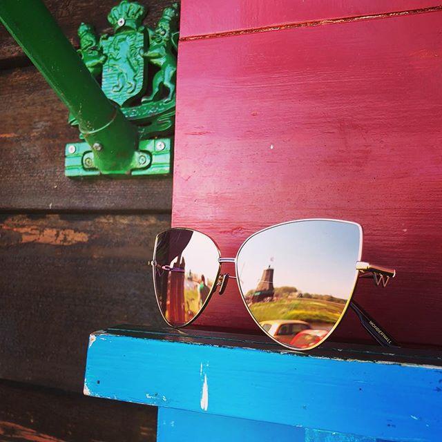 Our products found in Amsterdam. The New and Trendy @wonderwalleyewear • • • #zaandam #amsterdam #holland #dutch #holiday #sunday #sundayfunday #glasses #eyewear #fashion #fashionblogger #production #fall #autumn #europe #travel #ymo  #sunny #beautiful #shopping #elle #life #cool #trendy #fashionaddict #wonder #wonderwall #trendy #new #girlpower #windmill