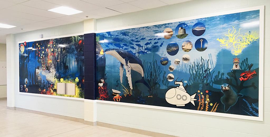 Public Art Interactive Murals -