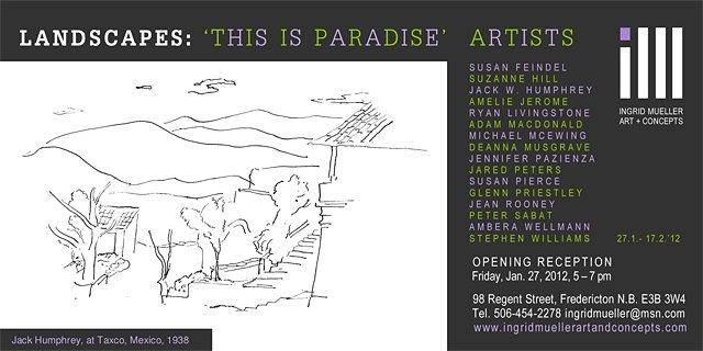 Landscapes Group Show 2012