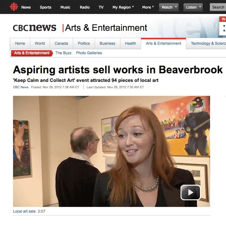Beaverbrook Members Art Exhibition 2012
