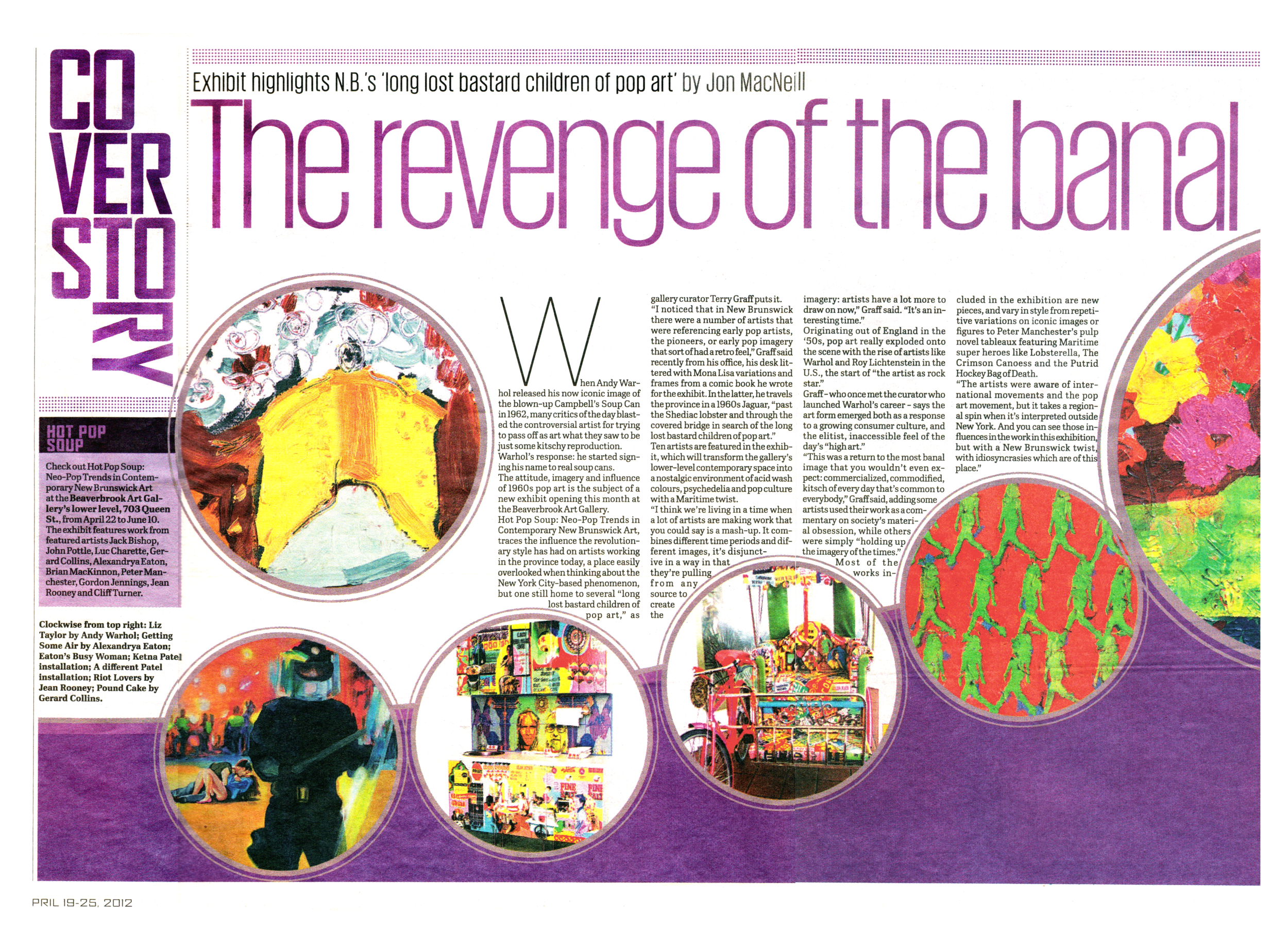Rooney Pop Art News Coverage  2012