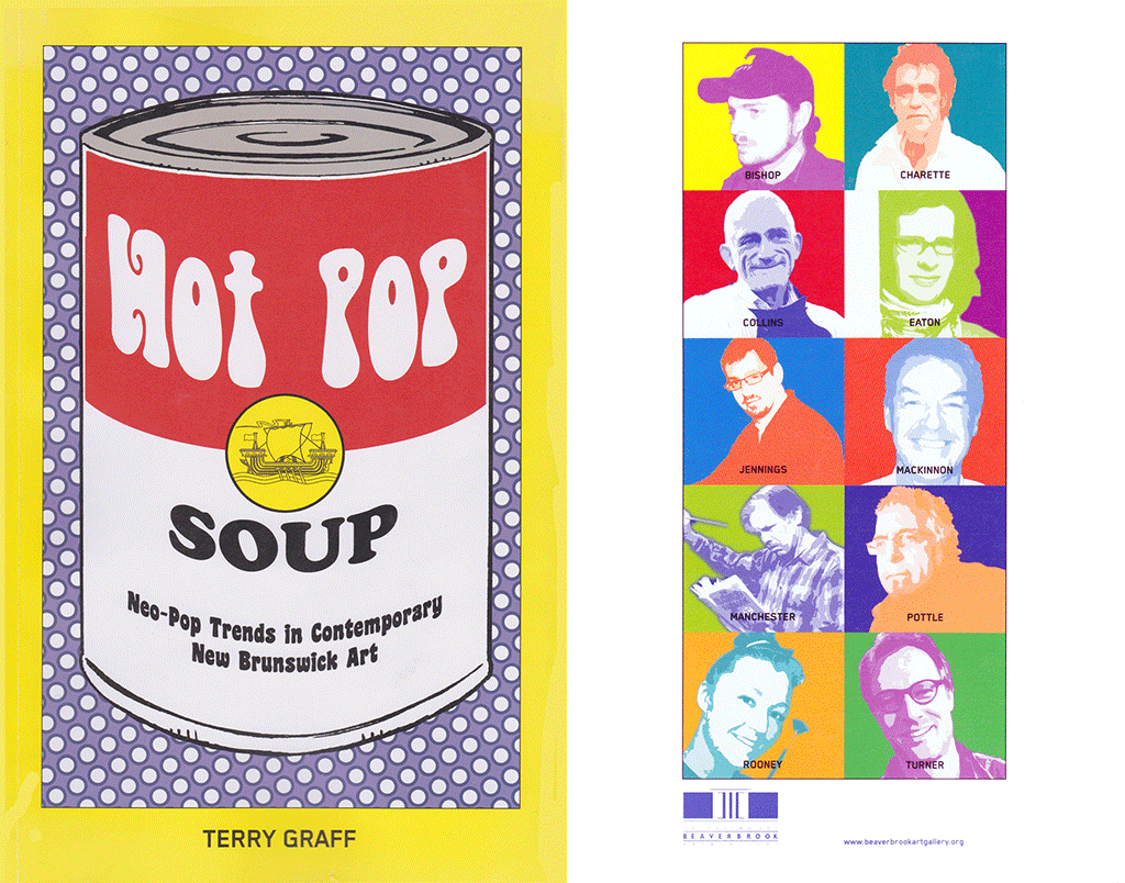 Hot Pop Soup Exhibition Cover 2012
