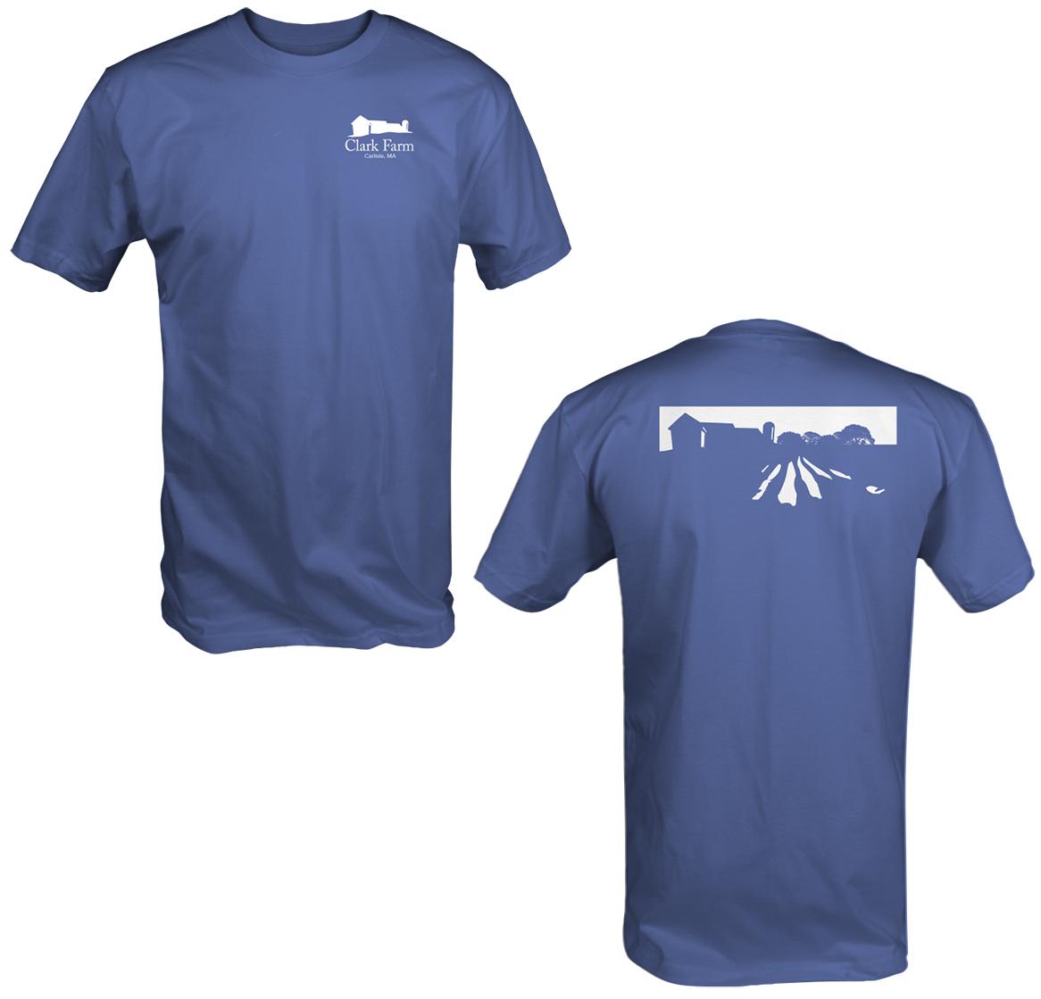 Clark Farm Field Shirt Blue