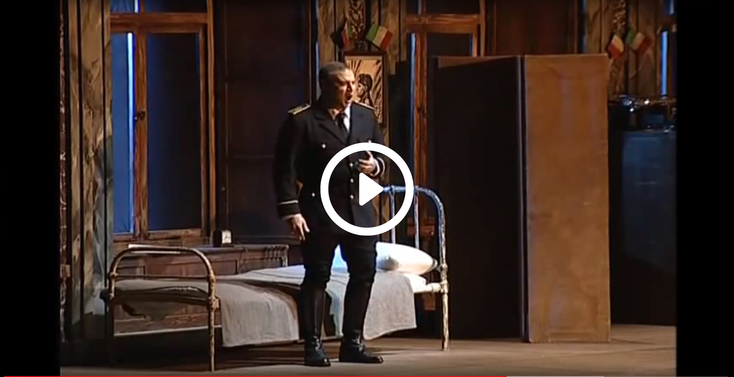 Michael Chioldi In Tosca - Get a first look at Baritone Michael Chioldi in this clip from Opera Oviedo in Spain