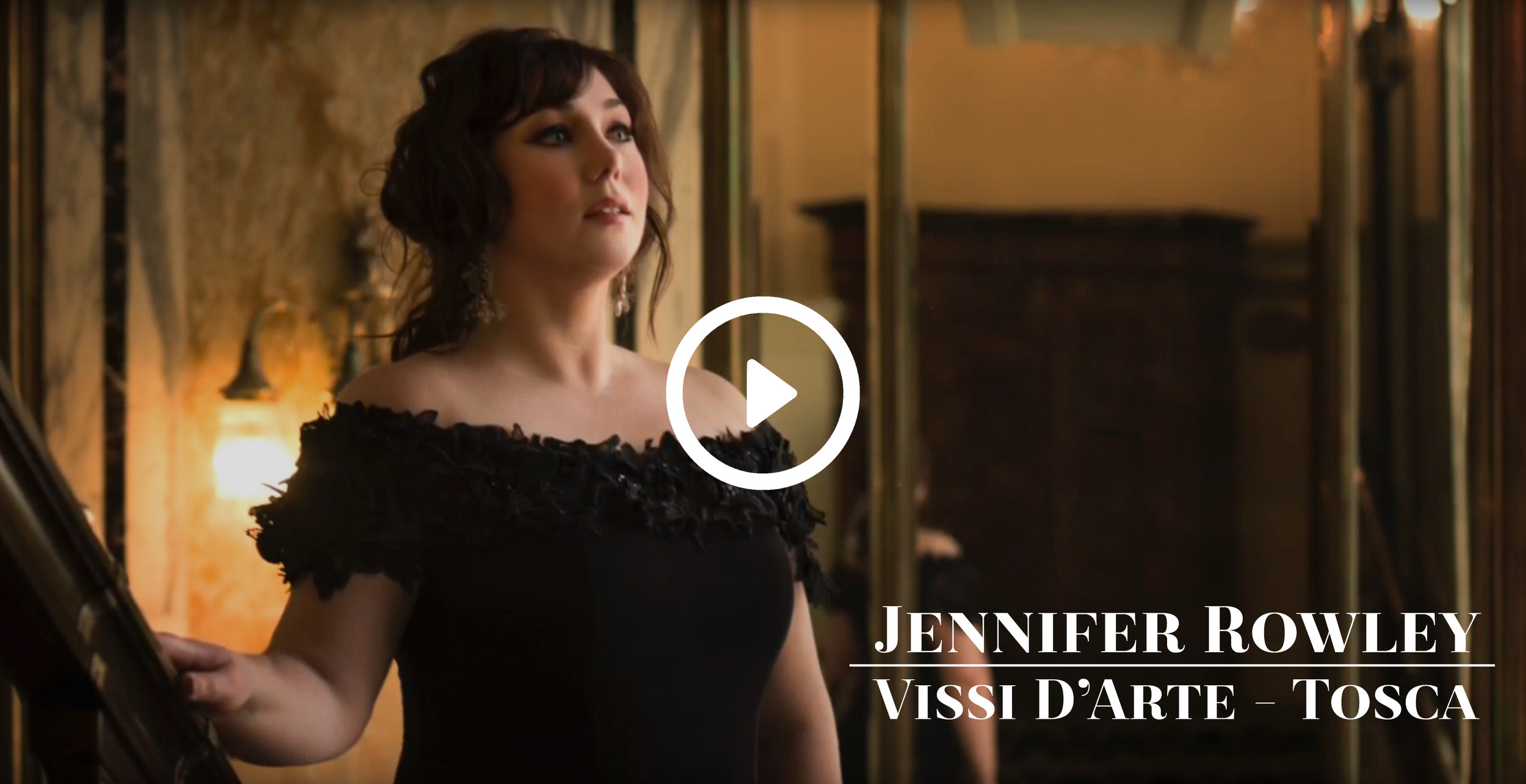 First Glimpse: Jennifer Rowley - Check out this sneak peak of Rowley singing Vissi d'arte from Tosca