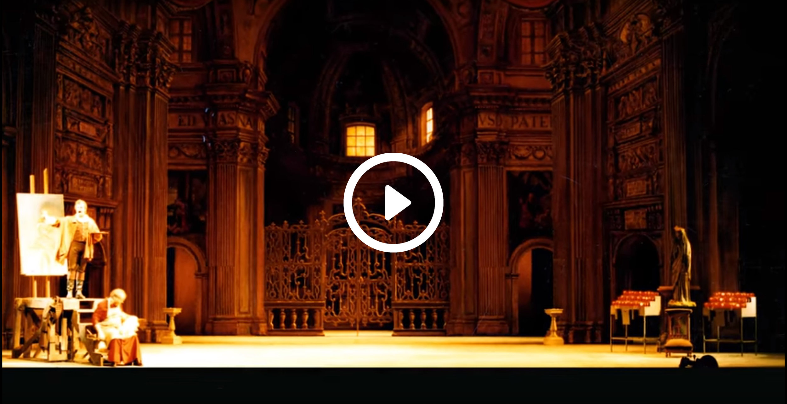 How we set the scene - See how the set of Tosca will come to life in this video from the Seattle Opera Company.