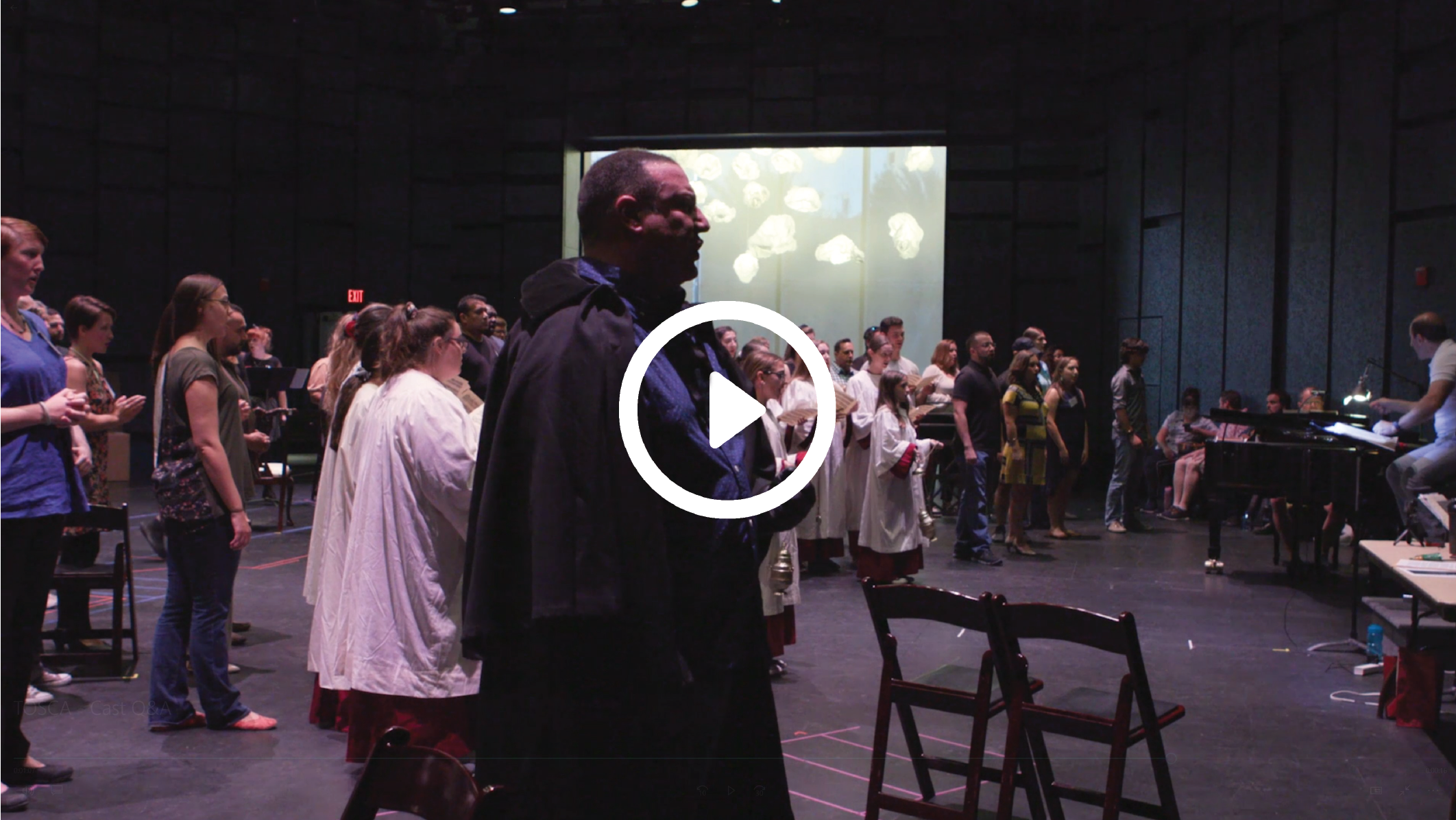 Behind the Scenes - What to Expect - Hear what the cast has to say about Tosca