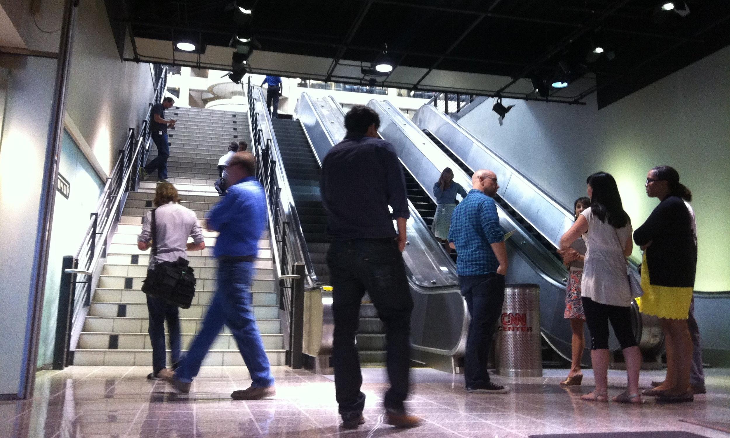RECON - Stairs vs. Escalators
