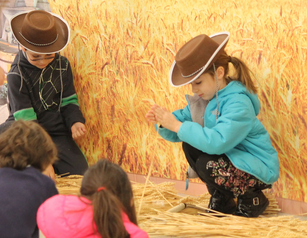 From collecting kernels from stalks of wheat, learning the winnowing process -