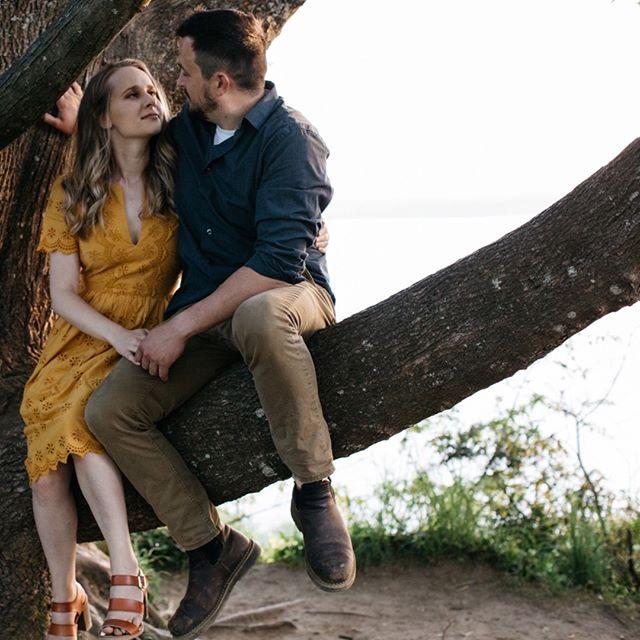 "Is it too cheesy to go with ""cierra and chad sitting in a tree, k-i-s-s-i-n-g"" for this caption? •⠀⠀⠀⠀⠀⠀⠀⠀⠀ •⠀⠀⠀⠀⠀⠀⠀⠀⠀ •⠀⠀⠀⠀⠀⠀⠀⠀⠀ #firstsandlasts #belovedstories #loveandwildhearts #blossomingbride #DIRTYBOOTSANDMESSYHAIR #pnwedding #weddinglegends #AUTHENTICLOVEMAG #wedventuremag #RADSTORYTELLERS #adventurouslovestories #untamedlovestories #wedphotoinspiration #junebugweddings #epicloveepiclife #WILDLOVEADVENTURES #deepintimatelovers #washingtonweddingphotographer #seattleweddingphotographer #seattlewedding #weddingphotographer #engagementphotography"