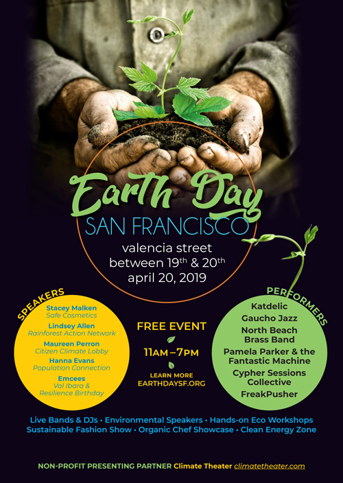 It's that time of year! - Earth Day weekend… to remind ourselves, what more can we be doing for the earth and for science?The podcast team will be at San Francisco's Earth Day on Saturday, April 20th! Come visit us, learn more about the podcast and engineering, and win some cool prizes!