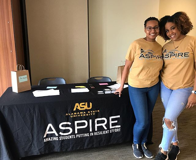 Help the students of Montgomery Public Schools achieve their full potential & develop their post-high school aspirations! Make a difference, become an ASU ASPIRE mentor today! Link in bio🐝 #myasu23