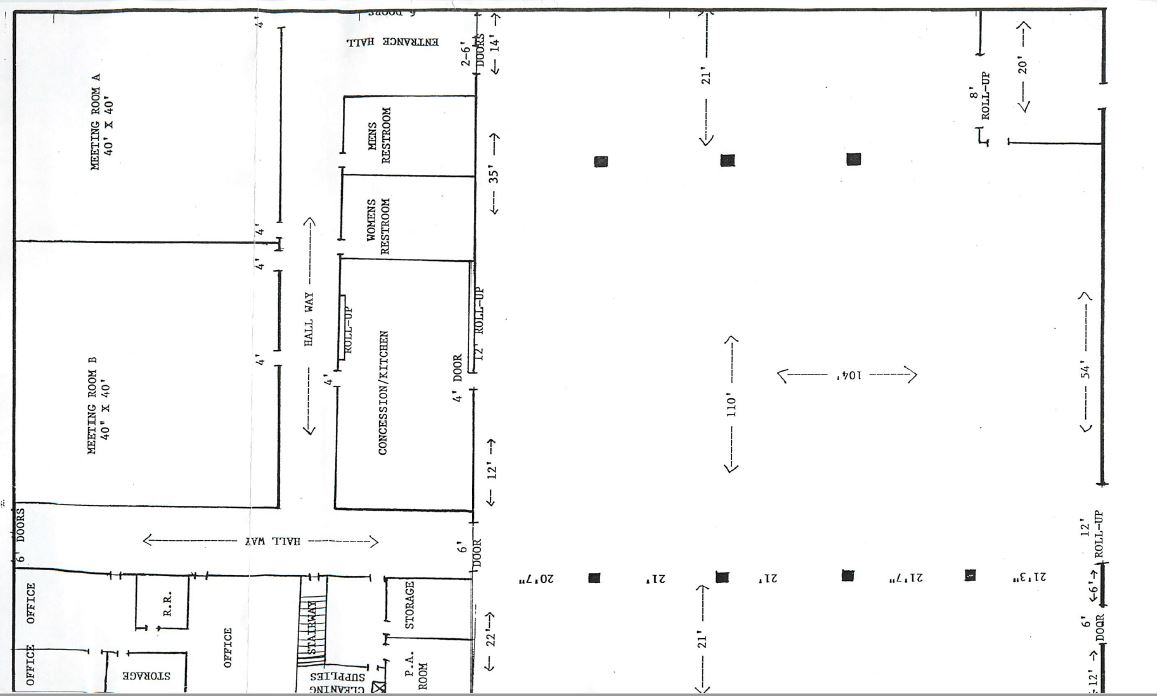 Copy of Linman Hall Layout