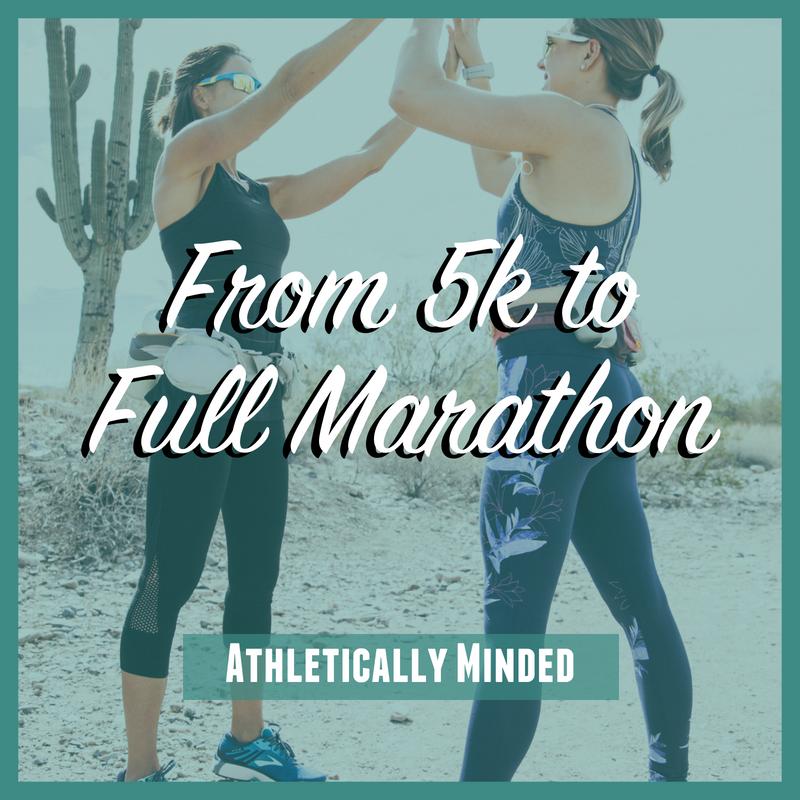 From 5k to Full Marathon