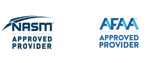 HOT HIIT® NASM AFAA Logos