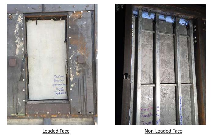 Figure 3. Post‐Test Photos of Test 2