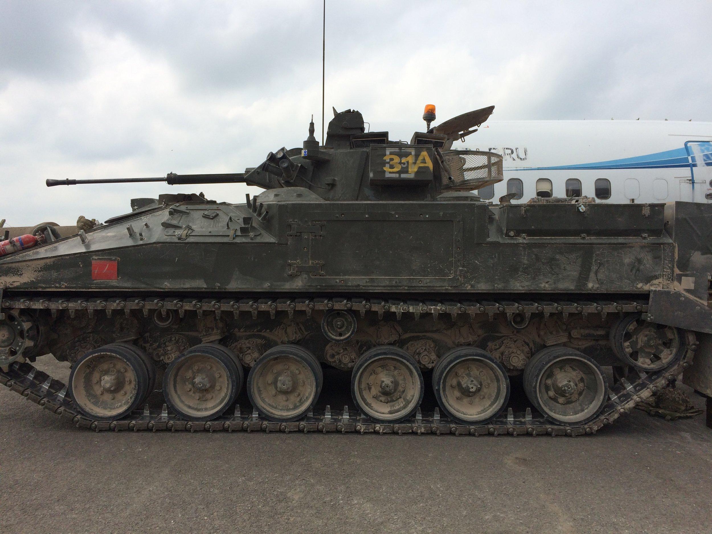 British Army Warrior IFV F510