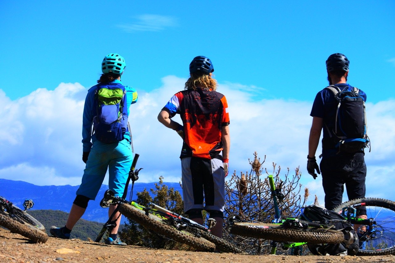 unbeaten adventures mountain-biking-pyrenees-zona-zero-ainsa enjoying the views.jpg