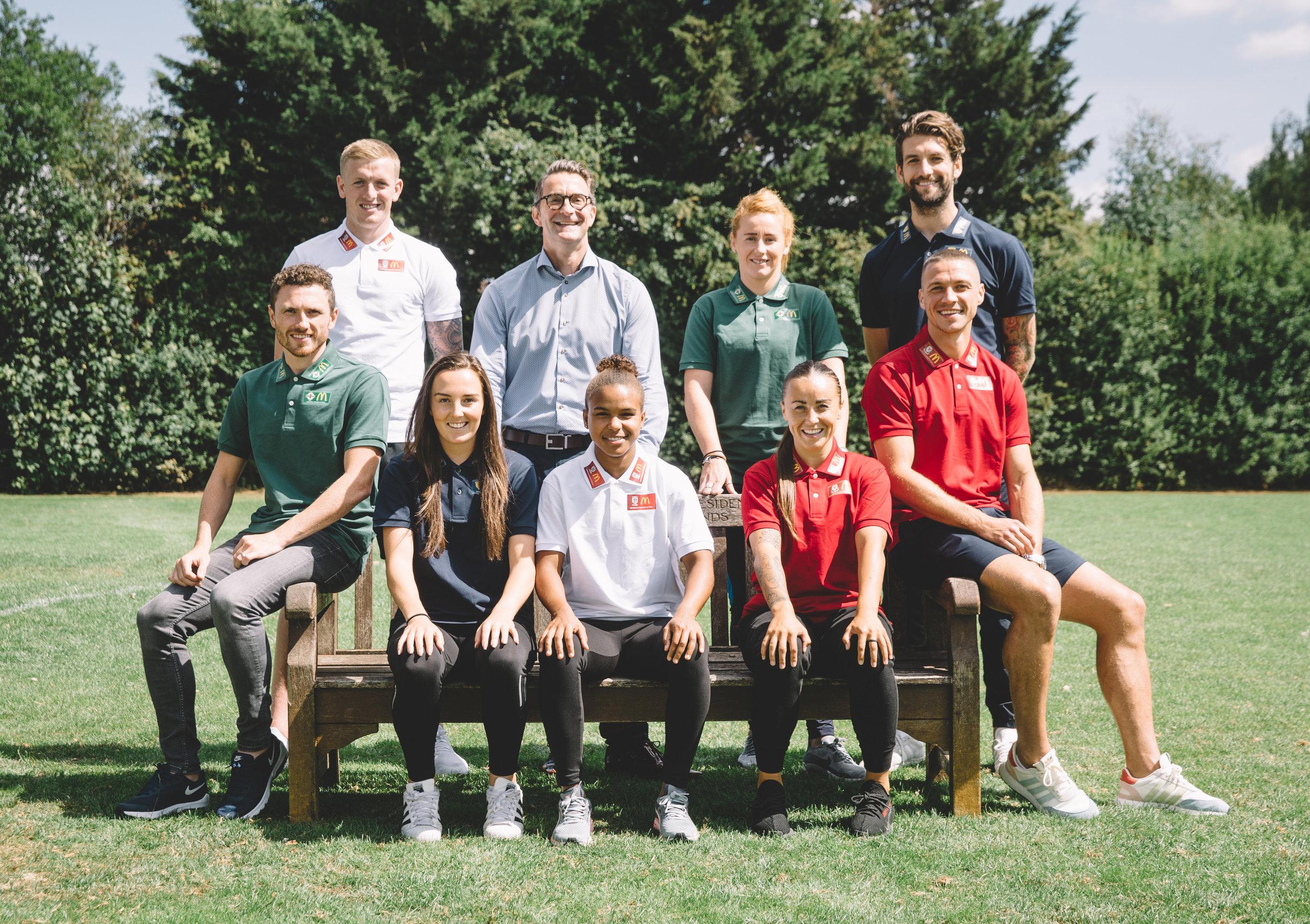 Home nations football ambassadors launch McDonald's UK and UKFA partnership.jpeg