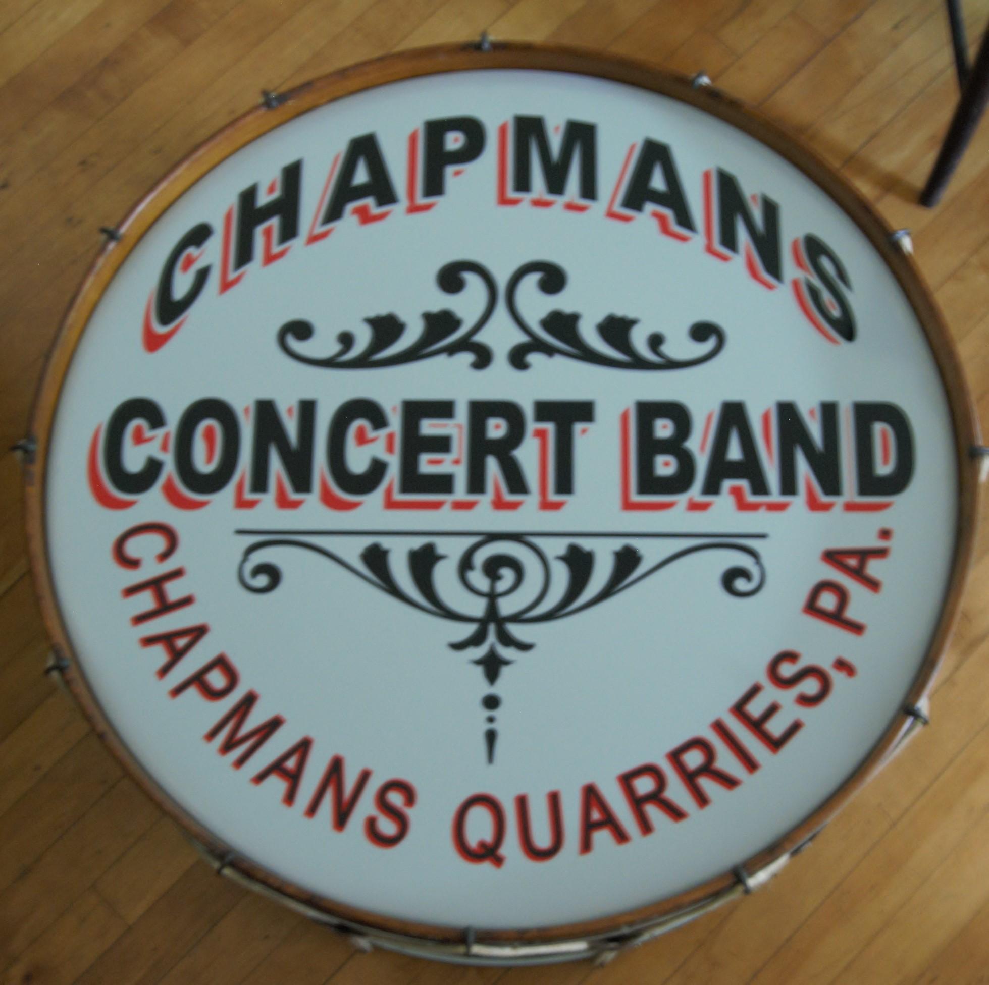 Bass Drum - Chapmans Concert Band