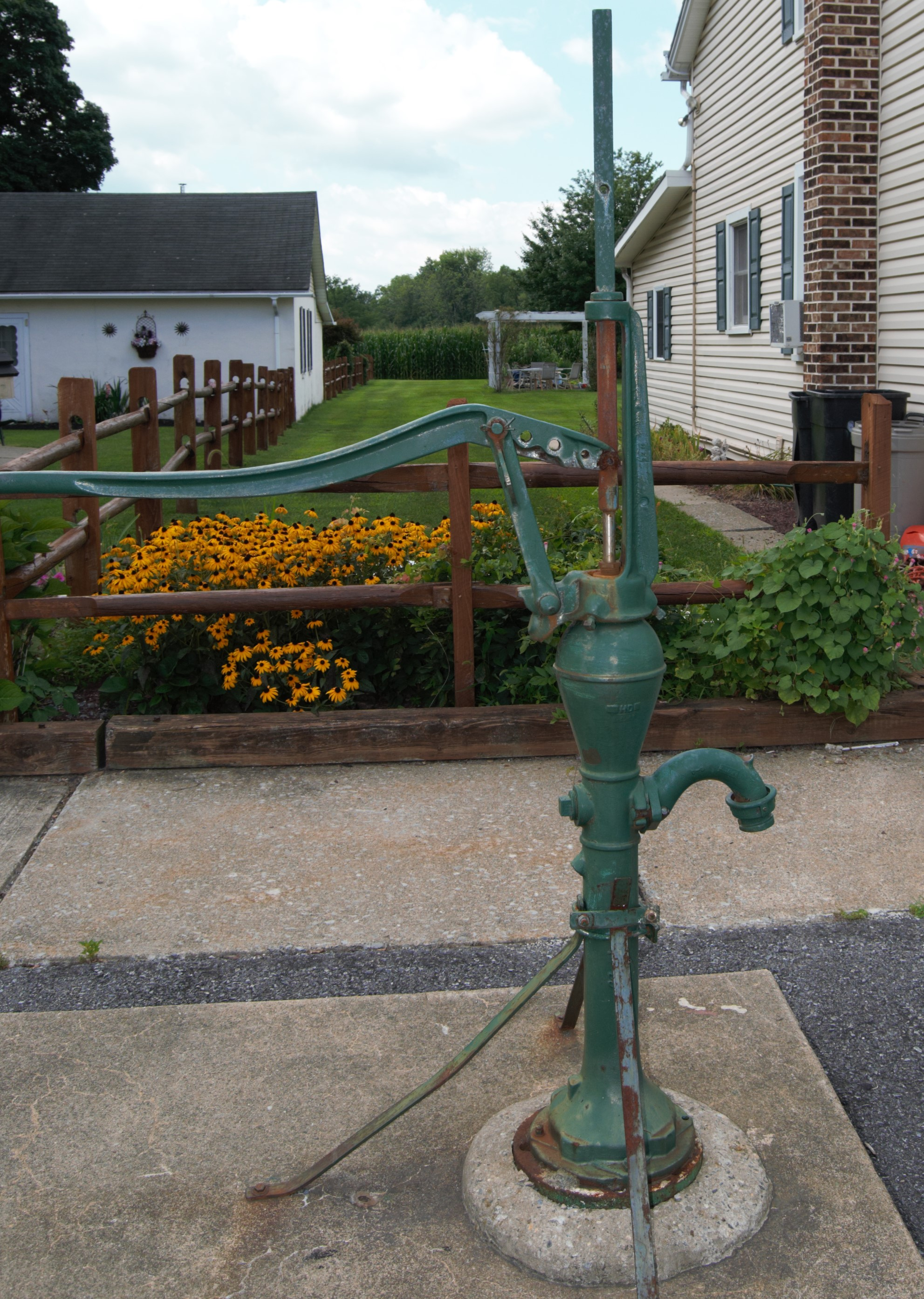 - One of two remaining pumps on Main St