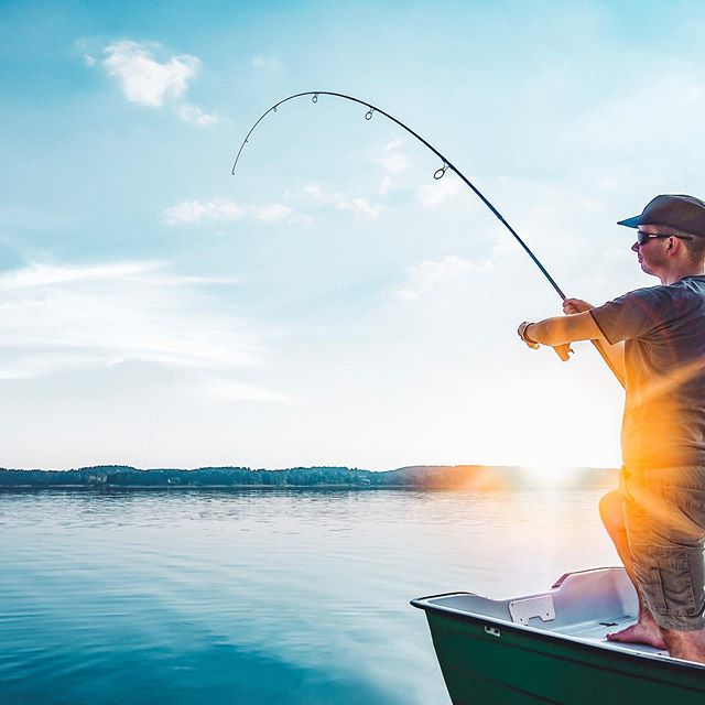 Happy National Fishing & Boating Week! Get out there on the water and enjoy the beautiful weather!!