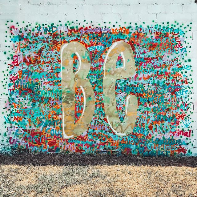 Check out what @walhallaartworks teen mural class did! We can't wait to see all the cool photos from it!