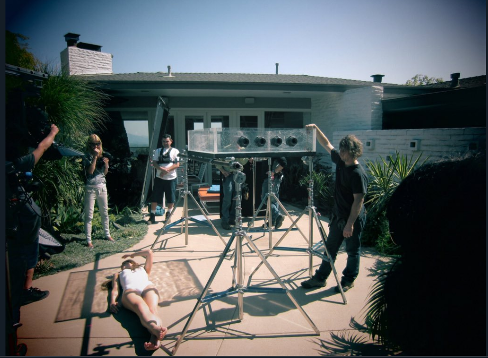 Behind the scenes photo from Lana Del Rey's 2012 music video for Blue Jeans. Source  @DelReyLatest