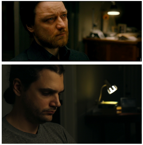 Recreating this emotional scene from Filth… without the emotion