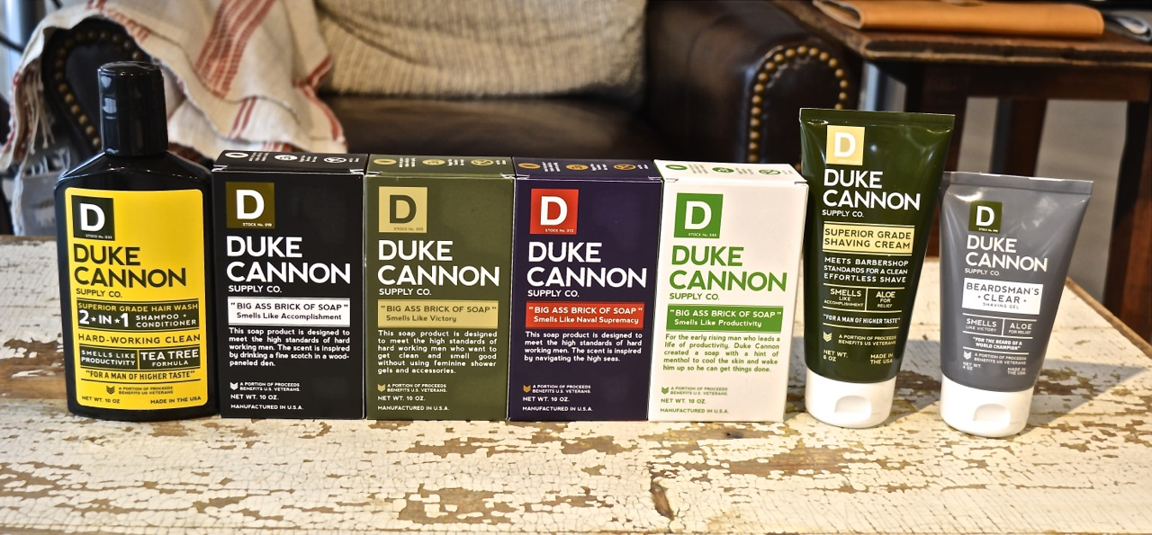 Duke Cannon Soap - How we spotted a winner and hopped on board