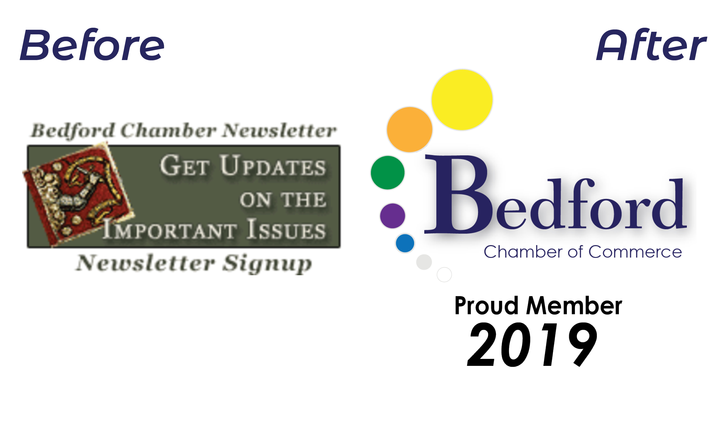 Rebranding - Bringing the Bedford Chamber of Commerce into the 21st century