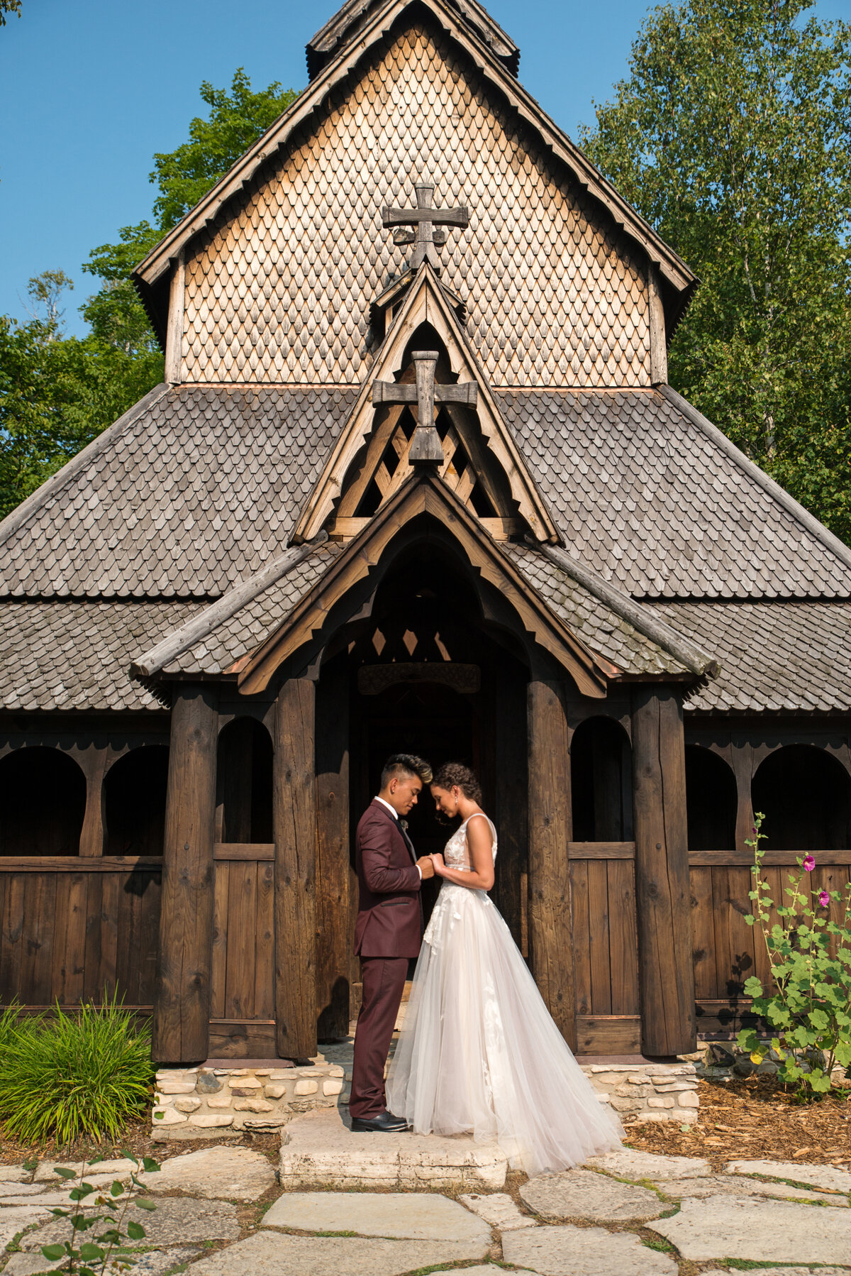 Styled shoot by  Kasey & Ben Photography  at Stavkirke Church.