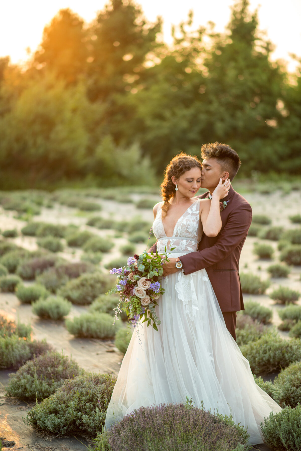 Styled shoot by  Kasey and Ben Photography  at Island Lavender at Historic Island Dairy.