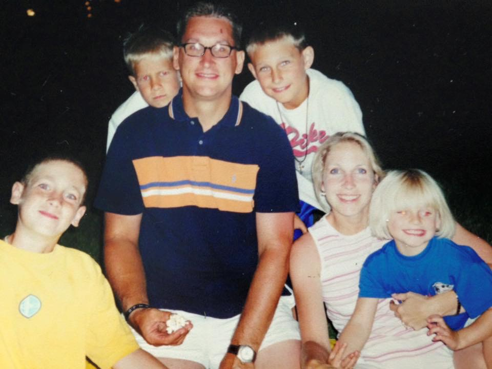 Dale and his family | Early 2000s