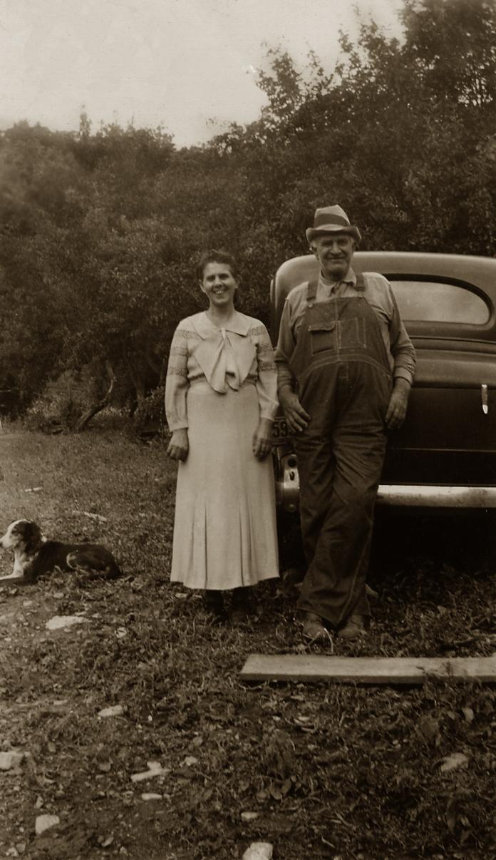 My great-grandparents - Antonia and Thomas Keener.