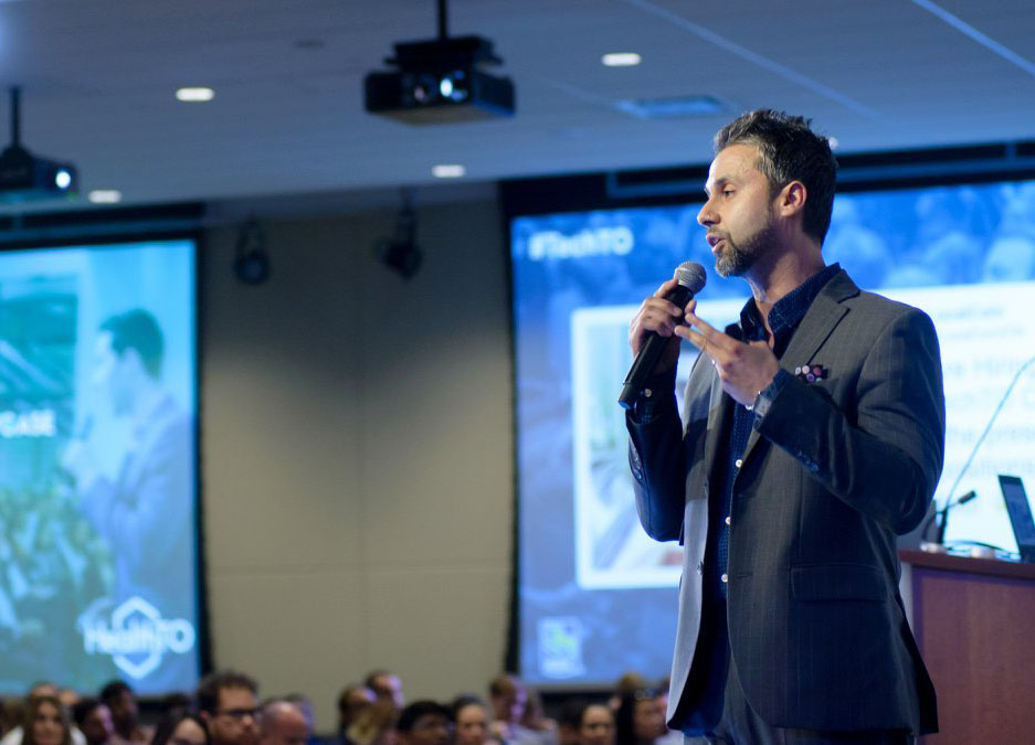 Nishaant Sangaavi, Cofounder of EnergyX Solutions Inc. presenting at #TechTO