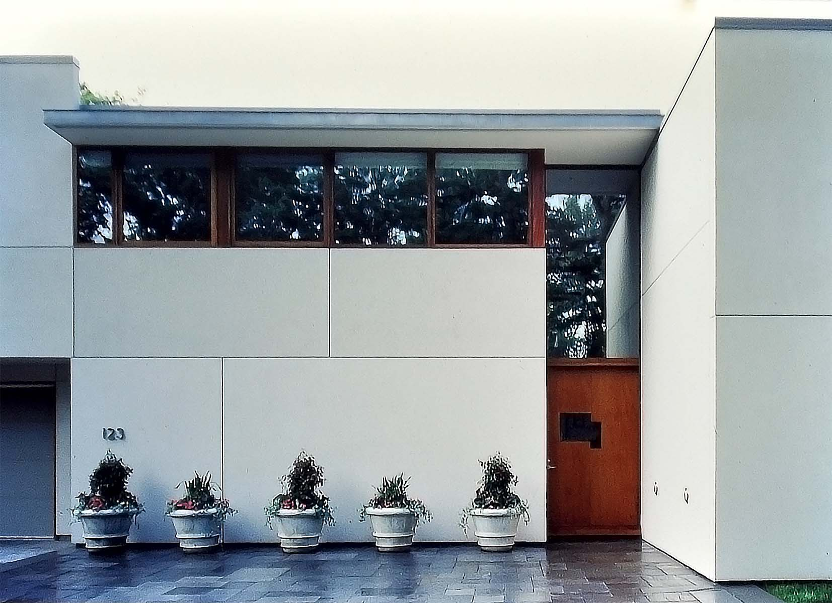 HOUSE FOR AN ART COLLECTOR