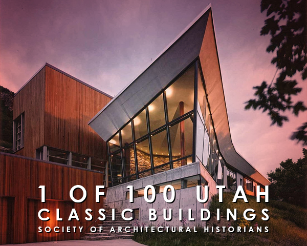 CANYON HOUSE FEATURED - The Canyon House was chosen as 1 of 100 of Utah's classic buildings by the Society of Architectural Historians for their Archipedia. These entries have been chosen by the editors as among the most significant or representative ones from their region.Learn more about the project and the SAH by clicking here.posted on July 28, 2016 9:31am