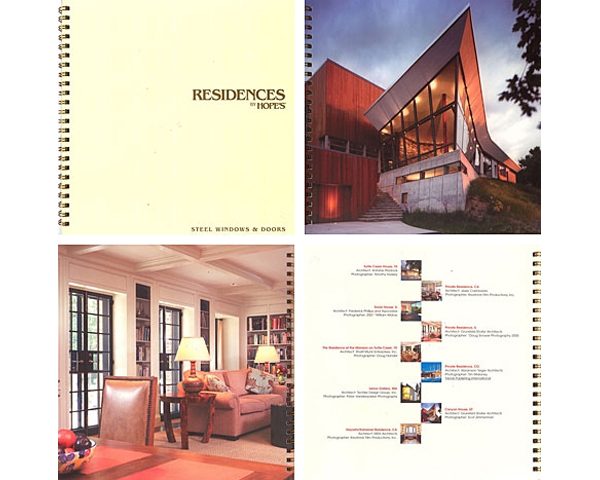 GRUNSFELD SHAFER ARCHITECTS FEATURED IN HOPE'S WINDOWS CATALOG - Canyon House and Historic Beman House are featured in the 2005 Hope's Steel Doors & Windows catalog.posted on June 18, 2005 at 10:26am