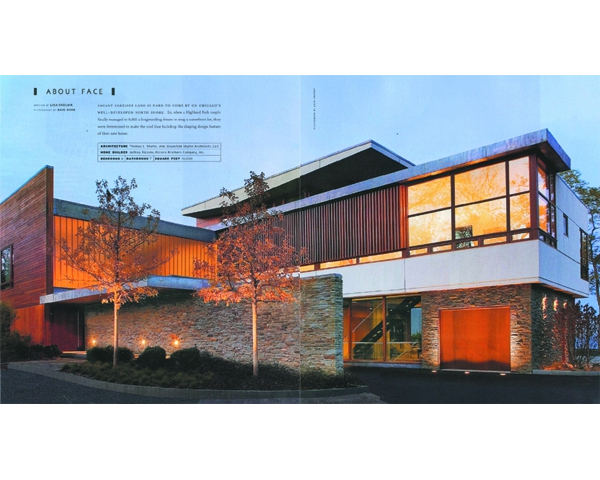 NORTH SHORE MODERN APPEARS IN LUXE - North Shore Modernwas featured in LUXEChicago magazine Volume 8 Issue 4 for the Fall 2010 publication.posted on December 21, 2010 at 10:52am